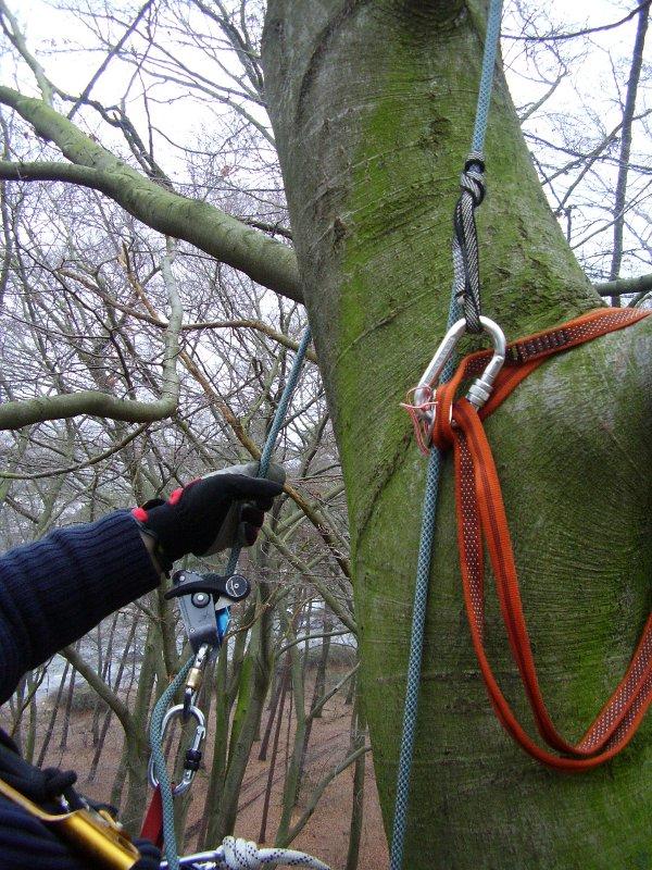 Sicherung der Seilspannung