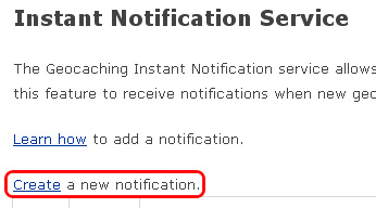 Create a new notification.