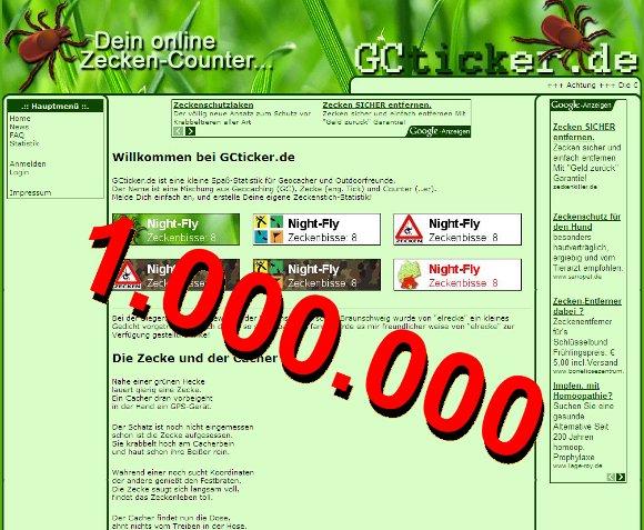 1.000.000 Einblendungen!
