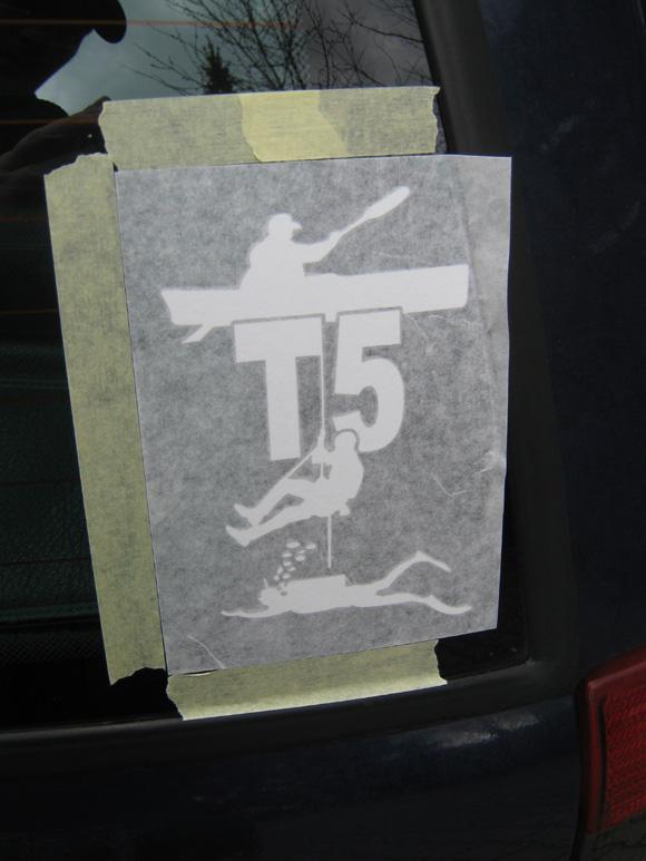 Schritt 9 - Logo fertig aufgeklebt