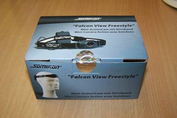 Verpackung der Helmkamera