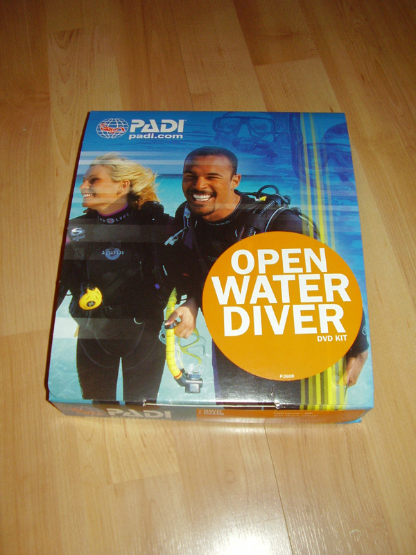 PADI OWD DVD-Kit