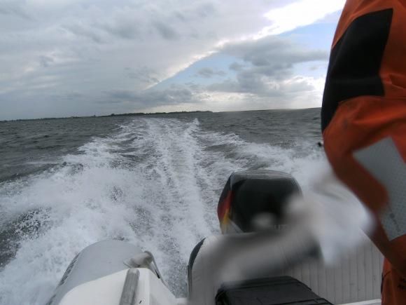 Ein Blick aufs Kielwasser...