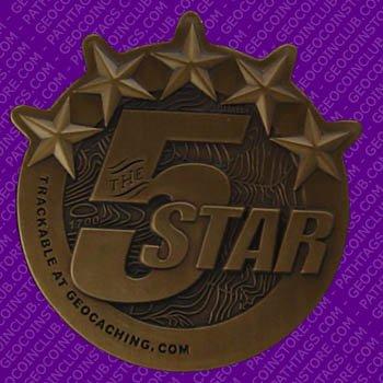 5 Star Geocoin
